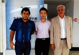 Clientes cooperativos de Irán